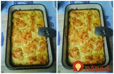 Môj manžel kuriatko veľmi nemusí, no keď sa upečie toto cesnakové krémové kuriatko, s tanierom sa otočí aj 3x. :-) Lasagna, Ham, Easy Meals, Easy Recipes, French Toast, Food And Drink, Healthy Eating, Chicken, Breakfast