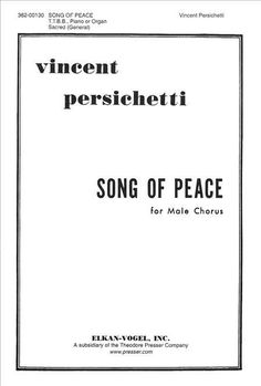 Song Of Peace (Piano Reduction/Vocal Score)