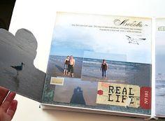 A fabulous multi-dimensional photo scrapbook (site in Russian)