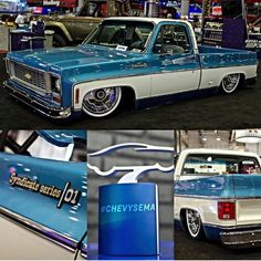 The Squarebody Syndicate SEMA build... just a gorgeous truck... phenomenal level of detail...