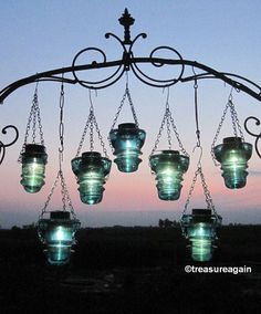 DIY Insulator Hanger Lantern Tea Light Holder, Outdoor Hanging Lanterns, or Recycled Garden Decor, Hangers Only – Solar light crafts Insulator Lights, Glass Insulators, Lantern Tea Light Holders, Solar Licht, Solar Light Crafts, Outdoor Hanging Lanterns, Outdoor Candles, Garden Lanterns, Recycled Garden