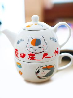 Natsume's Book Of Friends Nyanko Sensei Fashion Anime Ceramic - Milanoo.com