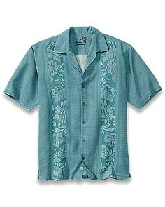 See when Big & Tall Amazon Jacquard Camp Shirt is on sale - TrackIf
