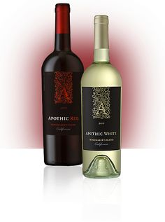 "Apothic Red. my current favoritest ""Apothic Red reveals intense fruit aromas and flavors of rhubarb and black cherry, complemented by hints of mocha, chocolate, brown spice and vanilla. The plush, velvety mouthfeel and the smooth finish round out this intriguing, full-bodied red blend."