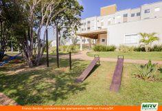 Paisagismo do Franca Garden. Condomínio fechado de apartamentos localizado em Franca / SP.