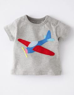 I've+spotted+this+@BodenClothing+Vehicle+Appliqué+T-shirt+Grey+Marl/Plane archie