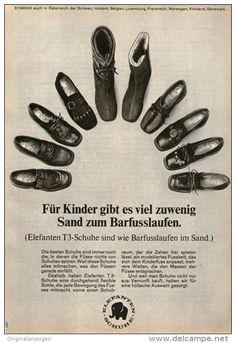 Original-Werbung/ Anzeige 1968 - ELEFANTEN SCHUHE - ca. 120 x 170 m