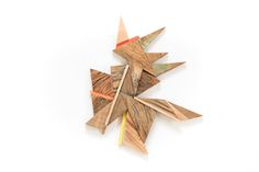 MARTIN VIECENS | Sculptural object |  Recycled wood | Assemblies