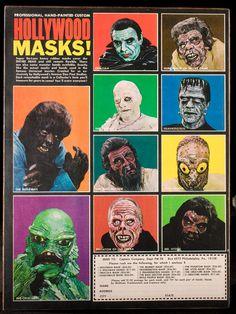 Color Hollywood Masks! ad