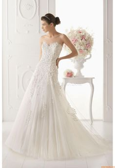 Vestidos de noiva Aire Barcelona 124 Odisea 2014