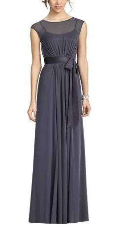 DAPENE Lady Women Cap Sleeve Chiffon Bridesmaid « Dress Adds Everyday