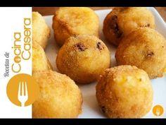 Bolas de Patata y Chorizo | Recetas de Cocina Casera - Recetas fáciles y sencillas