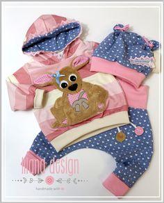 Sets - ♥Süßes Baby Newborn Set gr.68 3tlg.♥ - ein Designerstück von LiLaNa-Design bei DaWanda