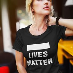#WhiteLivesMatter but you are not supposed to say it. This design makes the double standard visible. #politicallyincorrect White Lives Matter, Double Standards, Hoodies, Sweatshirts, T Shirts For Women, Store, Design, Fashion, Moda