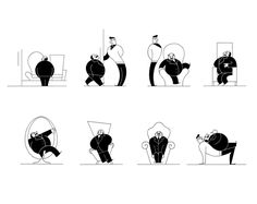 miguel porlan, illustration, the new yorker, spot series
