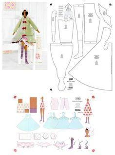Tilda dress - TILDA | Pinterest