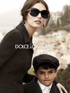 Бьянка Балти в рекламной кампании очков Dolce & Gabbana. Фотограф: Джампаоло Сгура