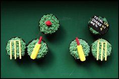 cricket cupcakes!!