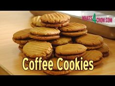How to Make Coffee Cookies – Easy Homemade Cookie Recipe Cookie Recipes video recipe – The Most Practical and Easy Recipes Easy Homemade Cookie Recipes, Soft Cookie Recipe, Coffee Biscuits, Coffee Cookies, Coffee Making Machine, Coffee Machine, Coffee Center, How To Make Coffee, Dessert Recipes