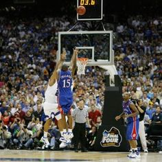 Travel with my KU Jayhawks basketball team and see every game all the way to the Final Four.