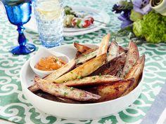 Potato Wedges with Smoky Aioli recipe from Patricia Heaton Parties via Food Network
