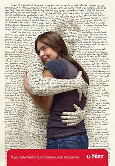 Touch someone with your words.