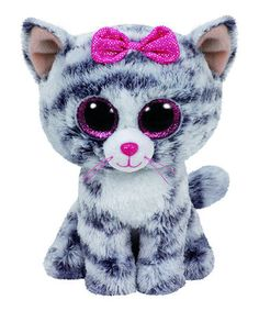 7581e1eec37 Love this Kiki the Gray Cat Beanie Boo on  zulily!  zulilyfinds Ty Beanie