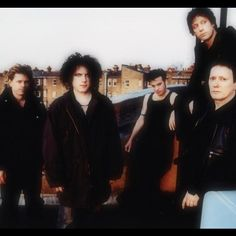 Jason Cooper, Robert Smith, Simon Gallup, Roger O'Donnell and Perry Bamonte
