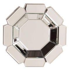 Howard Elliott Charisma Octagonal Mirror 14H x 14W x 2D - 11116