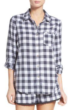 Main Image - Make + Model Plaid Pajamas
