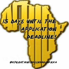 Join us as a volunteer this summer in Africa! Participant application deadline is February 1st! For application and program info, visit our website! #Benin #Gambia #Ghana #Kenya #Lesotho #Malawi #Niger #Senegal #SouthAfrica #Tanzania #Togo #Uganda #Africa #volunteer #peacecorps  #OperationCrossroadsAfrica