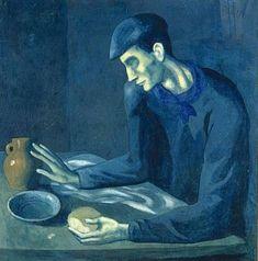 Picasso: repas de l'aveugle (1904)