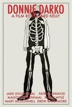 Donnie Darko (2001) - Minimal Movie Poster by Claudia Varosio #minimalmovieposter #alternativemovieposter #claudiavarosio