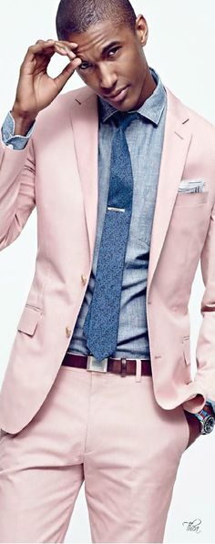 Suiting up the color for the black man ⋆ Men's Fashion Blog - #TheUnstitchd