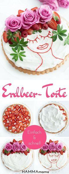Oh Là Là! ° Eine Trés Chic Erdbeer Torte Schnell Und Einfach Selber Machen
