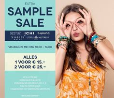 Extra Collections Sample Sale -- Amsterdam -- 23/05
