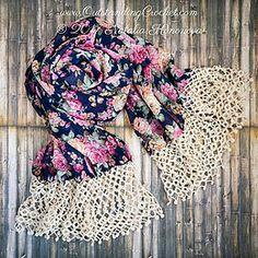 Drops Crochet Edging Pattern