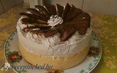 Érdekel a receptje? Kattints a képre! Hungarian Cake, Hungarian Recipes, Cakes And More, Cake Cookies, Tiramisu, Food Photography, Food And Drink, Birthday Cake, Pudding