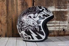 Custom Illustrated Motorcycle Helemts on Behance