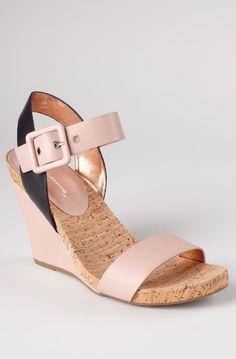 Blush Wedge Sandals / BCBGeneration