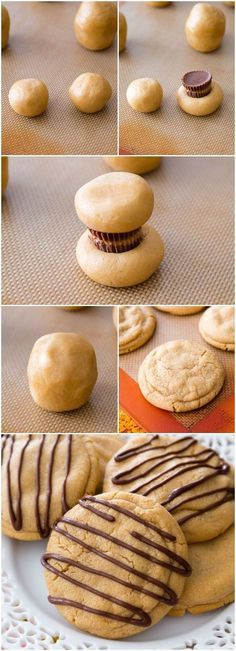 Reese's Stuffed Peanut Butter Cookies. Soft, chewy, and overloaded with peanut b… Reese's Stuffed Peanut Butter Cookies. Soft, chewy, and overloaded with peanut butter! Cookie Desserts, Just Desserts, Cookie Recipes, Delicious Desserts, Dessert Recipes, Yummy Food, Picnic Recipes, Picnic Ideas, Baking Desserts