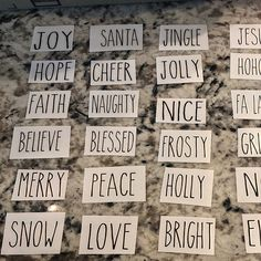 Rae Dunn inspired ornaments // farmhouse ornaments // Set of Christmas Decals, Christmas Rock, Christmas Signs Wood, Black Christmas, Diy Christmas Ornaments, Christmas Time, Christmas Decorations, Etsy Christmas, Christmas Clipart