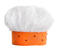 How to make a chef's hat for the kids in three easy steps!