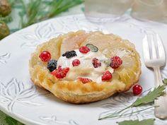 COMIDA DE AÑO NUEVO.  Postre: Receta de tarta de compota de manzana y pera de invierno con helado batido