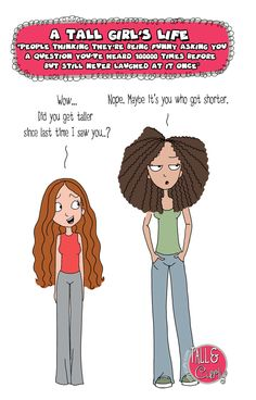Tall N Curly - Amazing questions #tallgirlsproblems