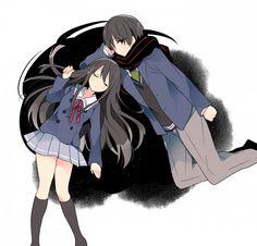 Tags: Anime, Shichi, Kyoukai no Kanata, Nase Mitsuki, Nase Hiromi