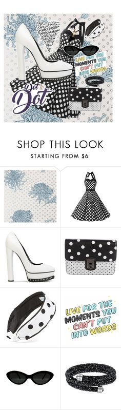 """""""Connect the Dots"""" by melissa-jones-01 ❤ liked on Polyvore featuring Casadei, Dolce&Gabbana, L. Erickson and Emilio Pucci"""