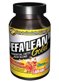 Efa Lean Gold Gel Caps by Labrada Nutrition - Buy Efa Lean Gold Gel Caps 180 Gelcaps at the vitamin shoppe
