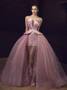 Read more The post Tony Chaaya Haute Couture Evening Dresses 2017 appeared first on How To Be Trendy. Prom Dresses 2018, Tulle Prom Dress, Bridal Dresses, Party Dress, Elegant Dresses, Pretty Dresses, Beautiful Dresses, Formal Gowns, Formal Prom