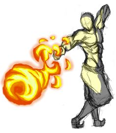 Firebending Punch by moptop4000.deviantart.com on @DeviantArt